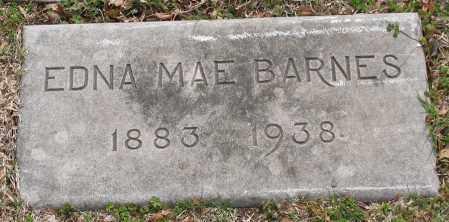 BARNES, EDNA MAE - Pulaski County, Arkansas | EDNA MAE BARNES - Arkansas Gravestone Photos