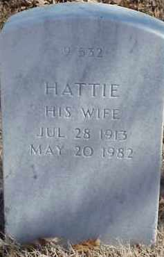 BARNES, HATTIE - Pulaski County, Arkansas | HATTIE BARNES - Arkansas Gravestone Photos