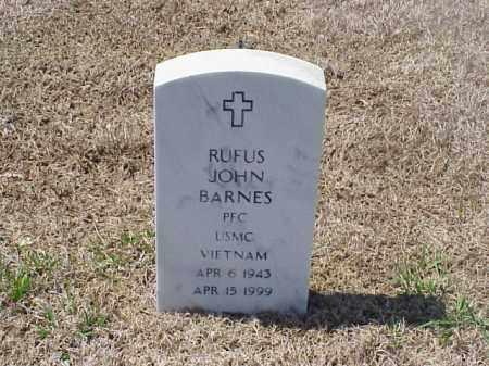BARNES (VETERAN VIET), RUFUS JOHN - Pulaski County, Arkansas | RUFUS JOHN BARNES (VETERAN VIET) - Arkansas Gravestone Photos