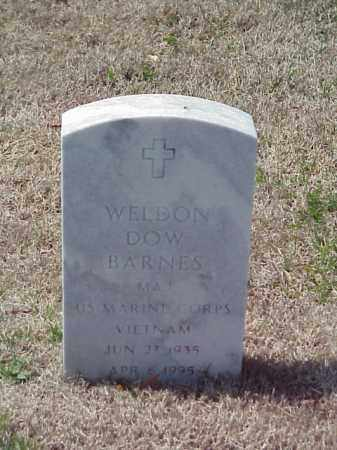 BARNES (VETERAN VIET), WELDON DOW - Pulaski County, Arkansas | WELDON DOW BARNES (VETERAN VIET) - Arkansas Gravestone Photos