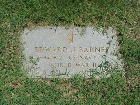 BARNES (VETERAN WWII), EDWARD J - Pulaski County, Arkansas | EDWARD J BARNES (VETERAN WWII) - Arkansas Gravestone Photos