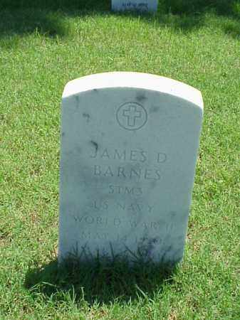 BARNES (VETERAN WWII), JAMES D - Pulaski County, Arkansas | JAMES D BARNES (VETERAN WWII) - Arkansas Gravestone Photos