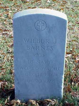 BARNES (VETERAN WWII), WILBUR J - Pulaski County, Arkansas | WILBUR J BARNES (VETERAN WWII) - Arkansas Gravestone Photos