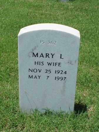 BARNETT, MARY L - Pulaski County, Arkansas | MARY L BARNETT - Arkansas Gravestone Photos