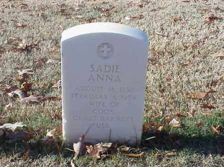 BARNETT, SADIE ANNA - Pulaski County, Arkansas | SADIE ANNA BARNETT - Arkansas Gravestone Photos