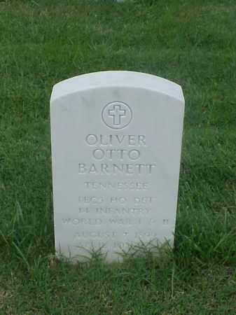 BARNETT (VETERAN 2WARS), OLIVER OTTO - Pulaski County, Arkansas | OLIVER OTTO BARNETT (VETERAN 2WARS) - Arkansas Gravestone Photos