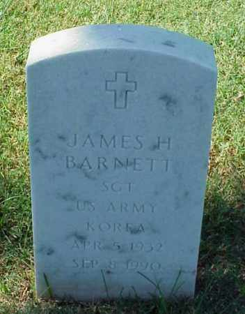 BARNETT (VETERAN KOR), JAMES H - Pulaski County, Arkansas | JAMES H BARNETT (VETERAN KOR) - Arkansas Gravestone Photos