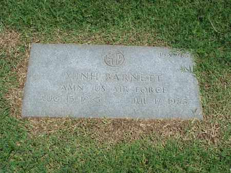 BARNETT (VETERAN), MINH - Pulaski County, Arkansas | MINH BARNETT (VETERAN) - Arkansas Gravestone Photos