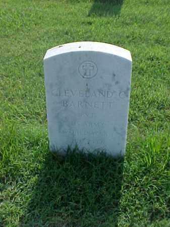 BARNETT (VETERAN WWI), CLEVELAND C - Pulaski County, Arkansas | CLEVELAND C BARNETT (VETERAN WWI) - Arkansas Gravestone Photos