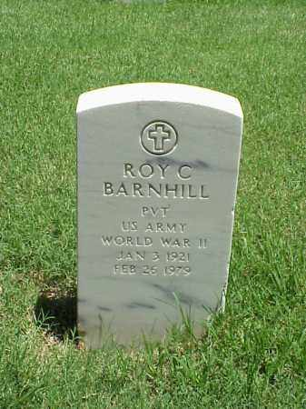 BARNHILL (VETERAN WWII), ROY C - Pulaski County, Arkansas | ROY C BARNHILL (VETERAN WWII) - Arkansas Gravestone Photos