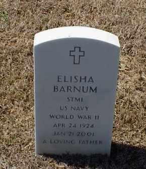 BARNUM (VETERAN WWII), ELISHA - Pulaski County, Arkansas | ELISHA BARNUM (VETERAN WWII) - Arkansas Gravestone Photos
