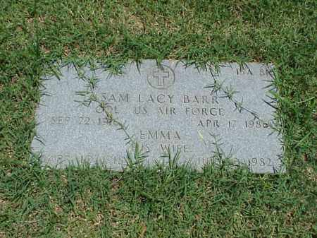 BARR (VETERAN), SAM LACY - Pulaski County, Arkansas | SAM LACY BARR (VETERAN) - Arkansas Gravestone Photos