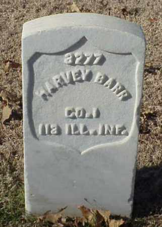 BARR (VETERAN UNION), HARVEY - Pulaski County, Arkansas | HARVEY BARR (VETERAN UNION) - Arkansas Gravestone Photos