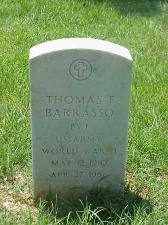 BARRASSO (VETERAN WWII), THOMAS F - Pulaski County, Arkansas | THOMAS F BARRASSO (VETERAN WWII) - Arkansas Gravestone Photos