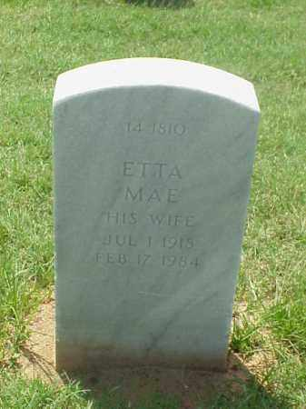 BARRETT, ETTA MAE - Pulaski County, Arkansas | ETTA MAE BARRETT - Arkansas Gravestone Photos