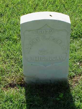 BARRETT (VETERAN UNION), ALBERT C - Pulaski County, Arkansas | ALBERT C BARRETT (VETERAN UNION) - Arkansas Gravestone Photos