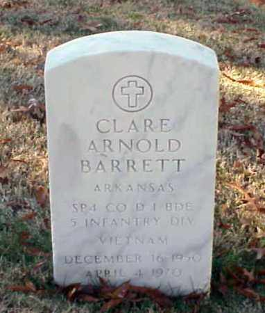 BARRETT (VETERAN VIET), CLARE ARNOLD - Pulaski County, Arkansas | CLARE ARNOLD BARRETT (VETERAN VIET) - Arkansas Gravestone Photos