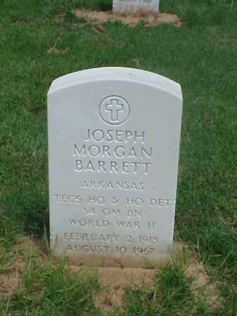 BARRETT (VETERAN WWII), JOSEPH MORGAN - Pulaski County, Arkansas | JOSEPH MORGAN BARRETT (VETERAN WWII) - Arkansas Gravestone Photos