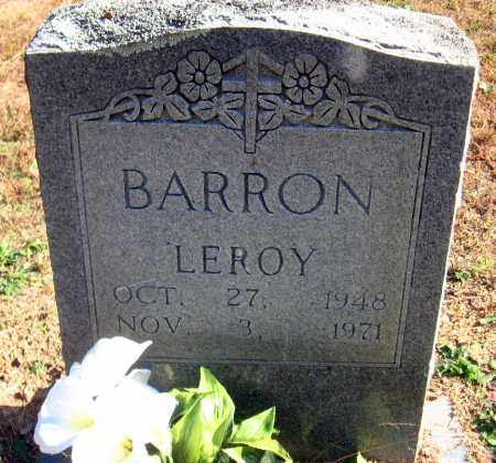 BARRON, LEROY - Pulaski County, Arkansas | LEROY BARRON - Arkansas Gravestone Photos