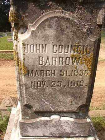 BARROW, JOHN COUNCIL - Pulaski County, Arkansas | JOHN COUNCIL BARROW - Arkansas Gravestone Photos
