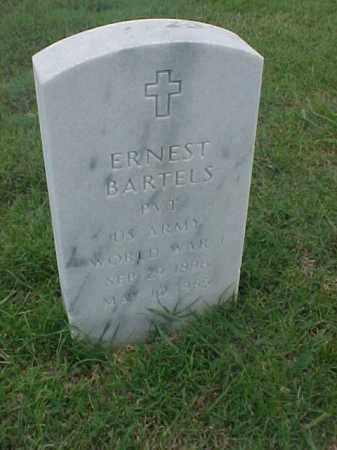 BARTELS (VETERAN WWI), ERNEST - Pulaski County, Arkansas | ERNEST BARTELS (VETERAN WWI) - Arkansas Gravestone Photos