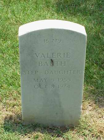 BARTH, VALERIE - Pulaski County, Arkansas | VALERIE BARTH - Arkansas Gravestone Photos