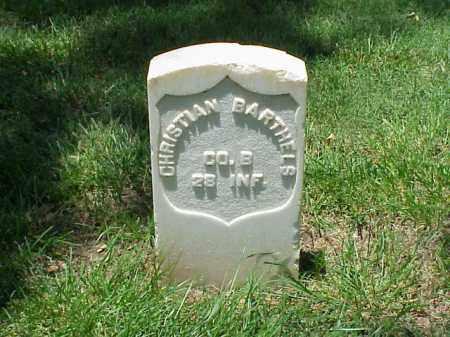 BARTHELS (VETERAN UNION), CHRISTIAN - Pulaski County, Arkansas | CHRISTIAN BARTHELS (VETERAN UNION) - Arkansas Gravestone Photos