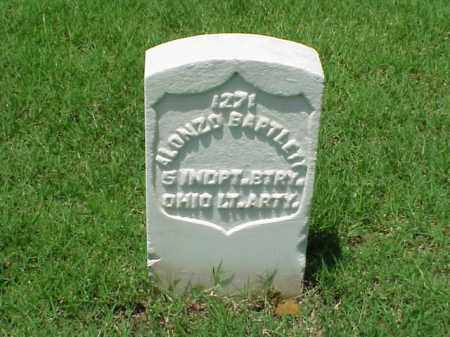 BARTLETT (VETERAN UNION), ALONZO - Pulaski County, Arkansas | ALONZO BARTLETT (VETERAN UNION) - Arkansas Gravestone Photos