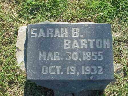 BARTON, SARAH B - Pulaski County, Arkansas | SARAH B BARTON - Arkansas Gravestone Photos