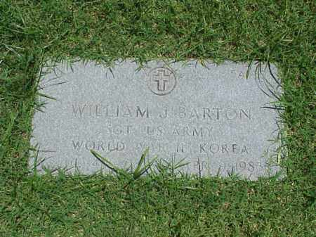 BARTON (VETERAN 2WARS), WILLIAM J - Pulaski County, Arkansas | WILLIAM J BARTON (VETERAN 2WARS) - Arkansas Gravestone Photos