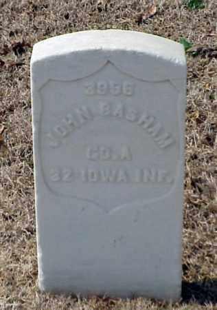 BASHAM (VETERAN UNION), JOHN - Pulaski County, Arkansas | JOHN BASHAM (VETERAN UNION) - Arkansas Gravestone Photos