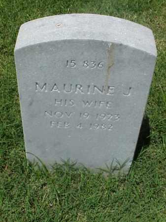 BASS, MAURINE J - Pulaski County, Arkansas | MAURINE J BASS - Arkansas Gravestone Photos