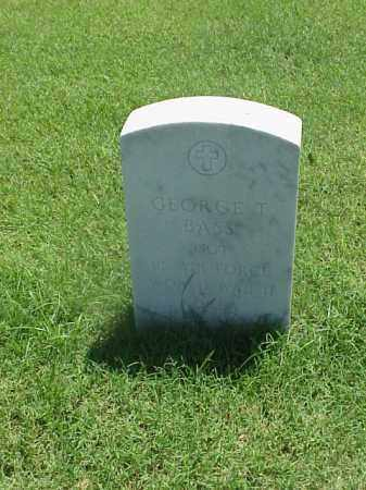 BASS (VETERAN 2WARS), GEORGE T - Pulaski County, Arkansas | GEORGE T BASS (VETERAN 2WARS) - Arkansas Gravestone Photos