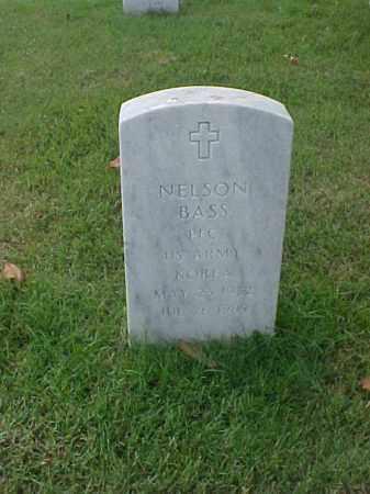 BASS (VETERAN KOR), NELSON - Pulaski County, Arkansas | NELSON BASS (VETERAN KOR) - Arkansas Gravestone Photos