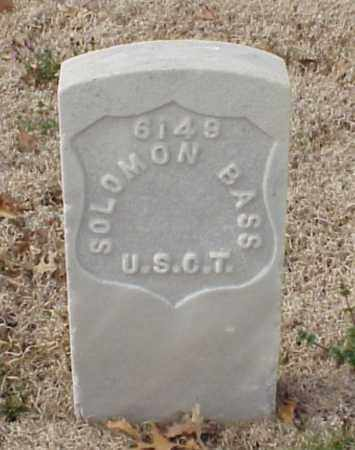 BASS (VETERAN UNION), SOLOMON - Pulaski County, Arkansas | SOLOMON BASS (VETERAN UNION) - Arkansas Gravestone Photos