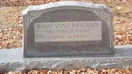 HULIN BATEMAN, KAMZAIDAH - Pulaski County, Arkansas | KAMZAIDAH HULIN BATEMAN - Arkansas Gravestone Photos