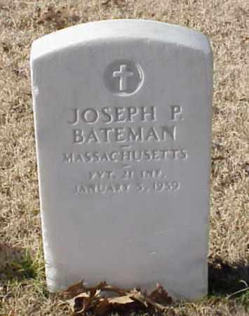 BATEMAN (VETERAN), JOSEPH P - Pulaski County, Arkansas | JOSEPH P BATEMAN (VETERAN) - Arkansas Gravestone Photos