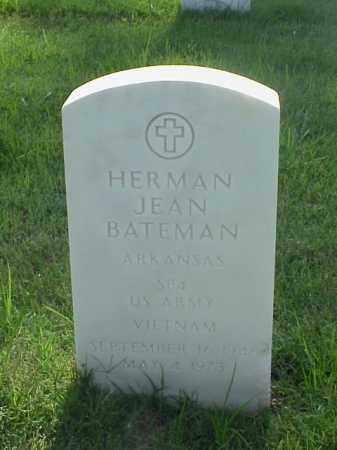 BATEMAN (VETERAN VIET), HERMAN JEAN - Pulaski County, Arkansas | HERMAN JEAN BATEMAN (VETERAN VIET) - Arkansas Gravestone Photos