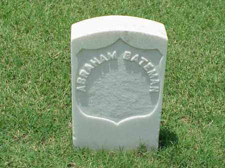 BATEMAN (VETERAN UNION), ABRAHAM - Pulaski County, Arkansas | ABRAHAM BATEMAN (VETERAN UNION) - Arkansas Gravestone Photos