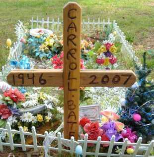 BATES, CARROLL - Pulaski County, Arkansas | CARROLL BATES - Arkansas Gravestone Photos