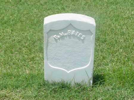 BATES (VETERAN UNION), F M - Pulaski County, Arkansas | F M BATES (VETERAN UNION) - Arkansas Gravestone Photos