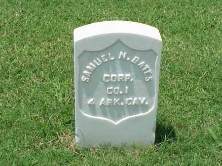 BATES (VETERAN UNION), SAMUEL N - Pulaski County, Arkansas | SAMUEL N BATES (VETERAN UNION) - Arkansas Gravestone Photos