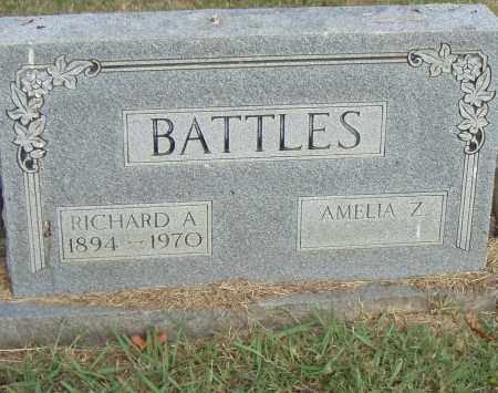 BATTLES, RICHARD A. - Pulaski County, Arkansas | RICHARD A. BATTLES - Arkansas Gravestone Photos