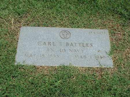 BATTLES (VETERAN), CARL E - Pulaski County, Arkansas | CARL E BATTLES (VETERAN) - Arkansas Gravestone Photos
