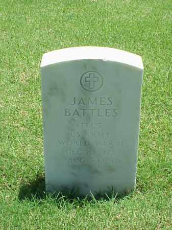 BATTLES (VETERAN WWII), JAMES - Pulaski County, Arkansas | JAMES BATTLES (VETERAN WWII) - Arkansas Gravestone Photos