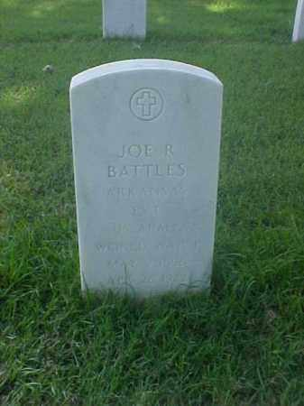 BATTLES (VETERAN WWI), JOE R - Pulaski County, Arkansas | JOE R BATTLES (VETERAN WWI) - Arkansas Gravestone Photos