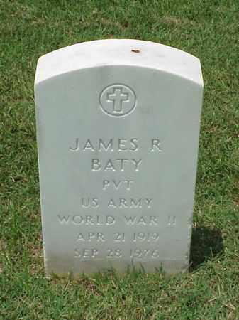 BATY (VETERAN WWII), JAMES R - Pulaski County, Arkansas | JAMES R BATY (VETERAN WWII) - Arkansas Gravestone Photos