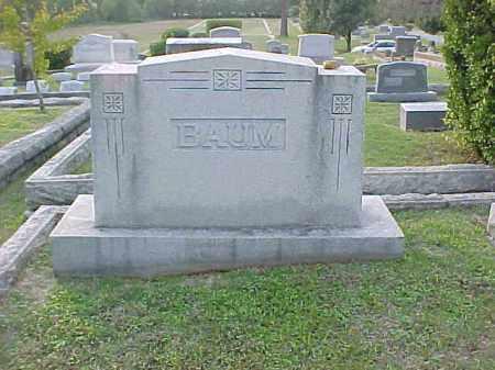 BAUM FAMILY STONE,  - Pulaski County, Arkansas |  BAUM FAMILY STONE - Arkansas Gravestone Photos