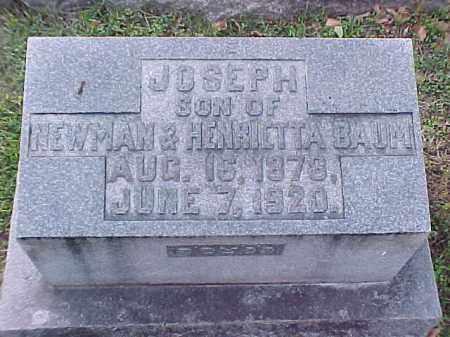 BAUM, JOSEPH - Pulaski County, Arkansas | JOSEPH BAUM - Arkansas Gravestone Photos
