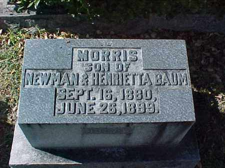 BAUM, MORRIS - Pulaski County, Arkansas | MORRIS BAUM - Arkansas Gravestone Photos